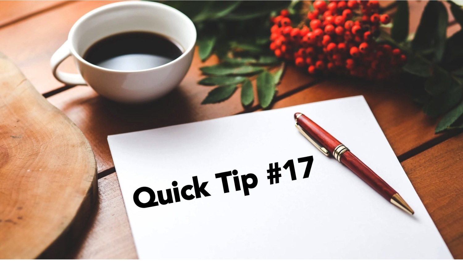 public speaking tip 17
