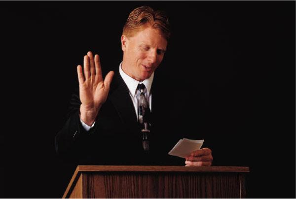 Phoenix Public Speaking lectern