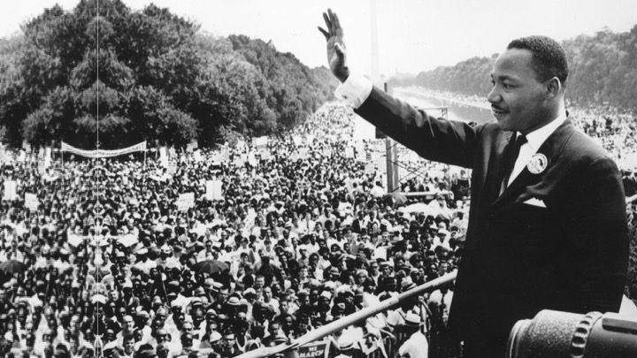 Martin Luther King Jr. public speaking